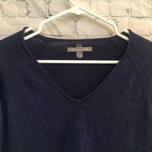 Smartwool Sweaters - Smartwool Blue Granite Falls V Neck Sweater